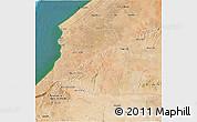 Satellite 3D Map of Safi