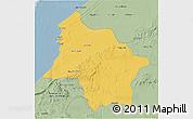 Savanna Style 3D Map of Safi