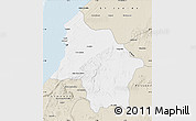Classic Style Map of Safi