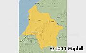 Savanna Style Map of Safi