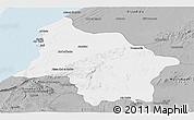 Gray Panoramic Map of Safi