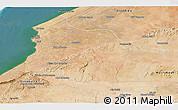 Satellite Panoramic Map of Safi