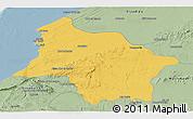 Savanna Style Panoramic Map of Safi