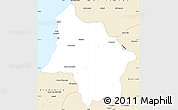 Classic Style Simple Map of Safi