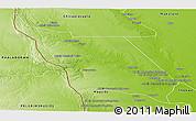 Physical Panoramic Map of Massingir