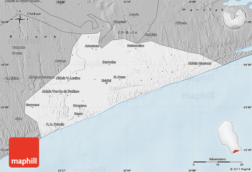Gray Map of XaiXai