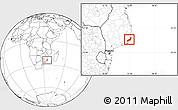 Blank Location Map of Jangamo
