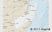 Classic Style Map of Jangamo