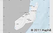 Gray Map of Jangamo, single color outside