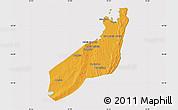 Political Map of Jangamo, cropped outside
