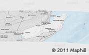 Silver Style Panoramic Map of Jangamo