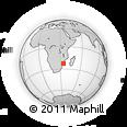 Outline Map of Inhambane