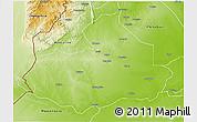 Physical 3D Map of Machaze