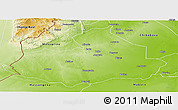 Physical Panoramic Map of Machaze