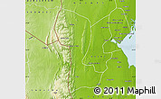 Physical Map of Namaacha