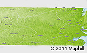 Physical Panoramic Map of Monapo