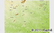 Physical 3D Map of Murrupula