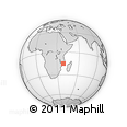Outline Map of Nampula
