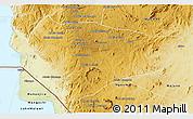 Physical 3D Map of Lichinga
