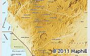 Physical Map of Lichinga