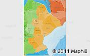 Political Shades 3D Map of Sofala