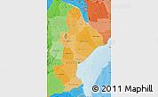 Political Shades Map of Sofala