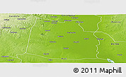 Physical Panoramic Map of Nhamatanda