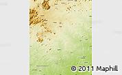 Physical Map of Alto Molocue