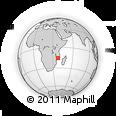 Outline Map of Alto Molocue