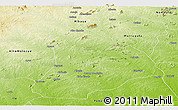 Physical Panoramic Map of Gile
