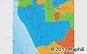 Political Map of Kunene