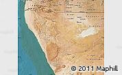 Satellite Map of Kunene