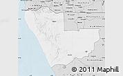 Silver Style Map of Kunene
