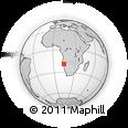 Outline Map of Kunene