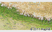Satellite 3D Map of Nepal