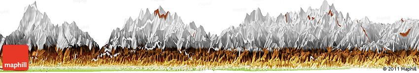 Physical Horizon Map of Bagmati