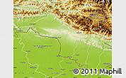 Physical Map of Narayani