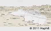 Classic Style Panoramic Map of Narayani