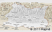 Classic Style Panoramic Map of East