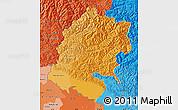 Political Shades Map of Far West