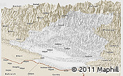 Classic Style Panoramic Map of Rapti
