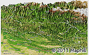 Satellite Panoramic Map of Rapti