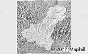Gray 3D Map of Dhawalagi