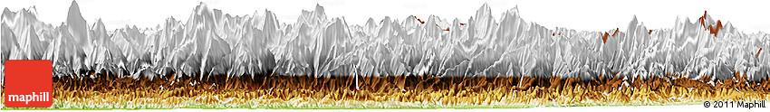 Physical Horizon Map of Gandaki