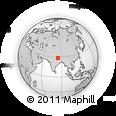 Outline Map of Gandaki