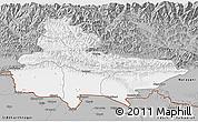 Gray 3D Map of Lumbini