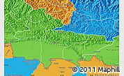 Political Map of Lumbini