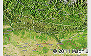 Satellite Map of Lumbini