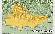 Savanna Style Map of Lumbini