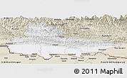 Classic Style Panoramic Map of Lumbini